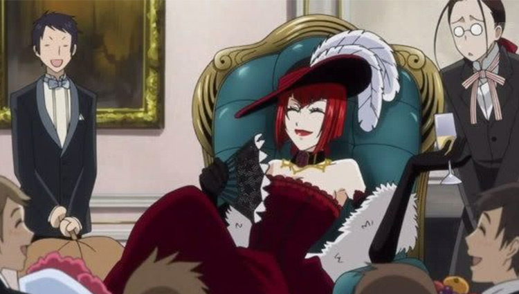 Angelina Dalles in Black Butler anime