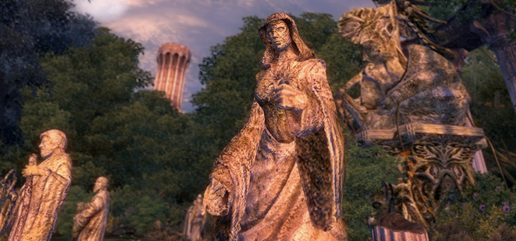 Oblivion Reloaded statue mod screenshot