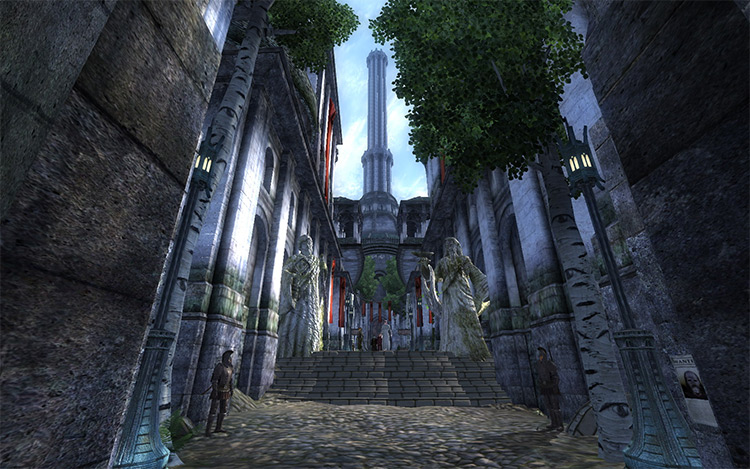 Better Cities Oblivion mod