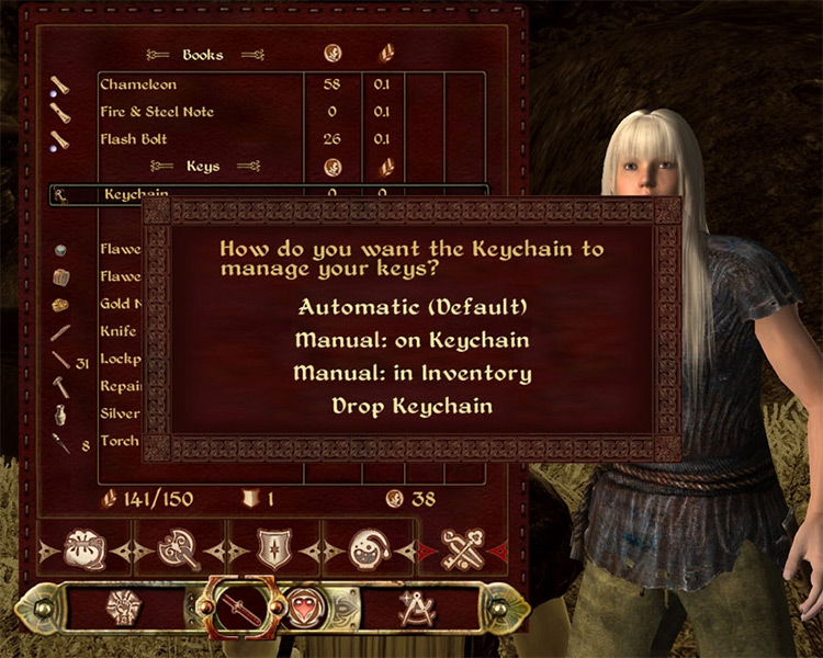 Keychain Oblivion mod