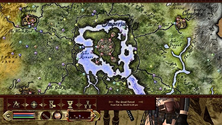 Elven Map Redux Oblivion mod