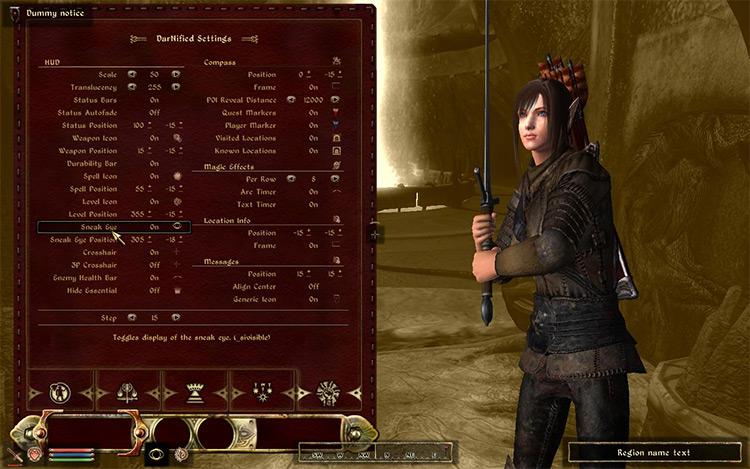 DarkUID Oblivion mod
