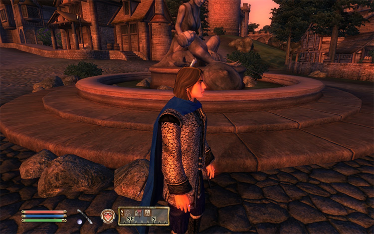 Capes and Cloaks Oblivion mod