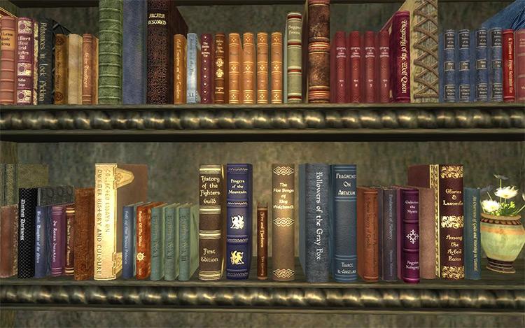 Book Jackets Oblivion mod