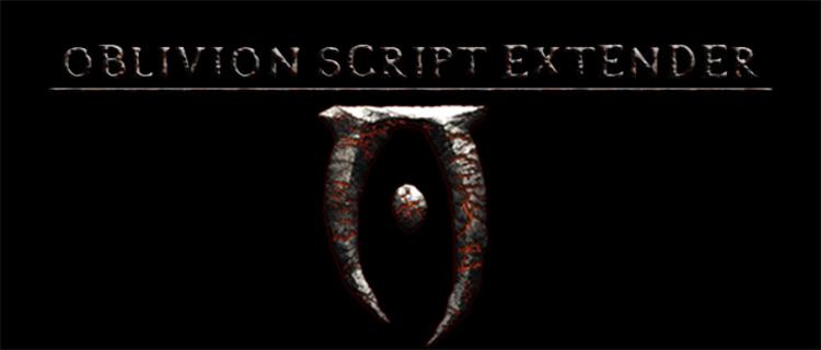Oblivion Script Extender mod