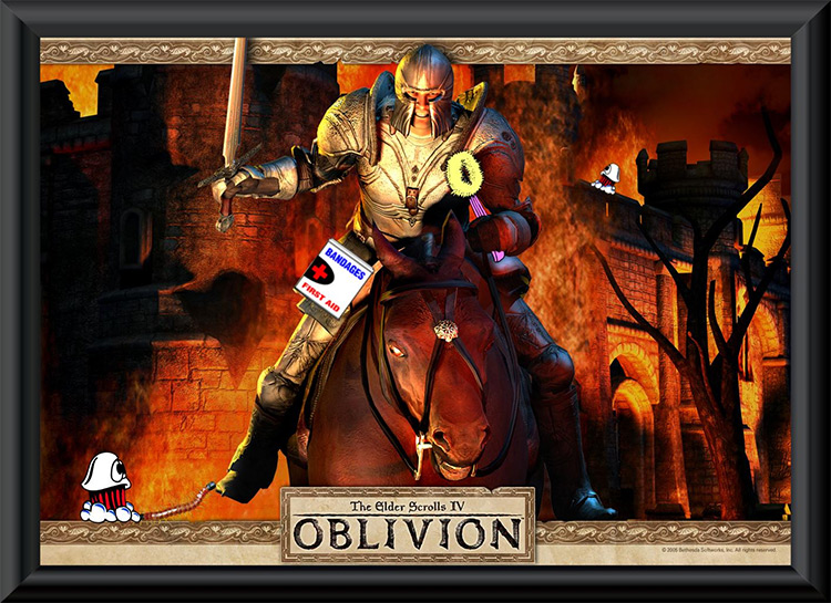 Unofficial Oblivion Patch mod