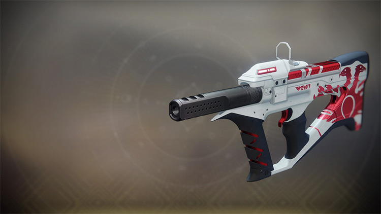 The Recluse Destiny 2 Submachine Gun