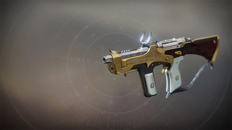 The Huckleberry Destiny 2 Submachine Gun