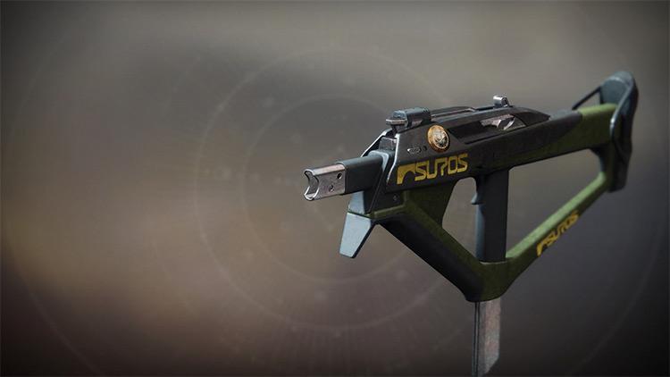 The Hero's Burden Destiny 2 Submachine Gun