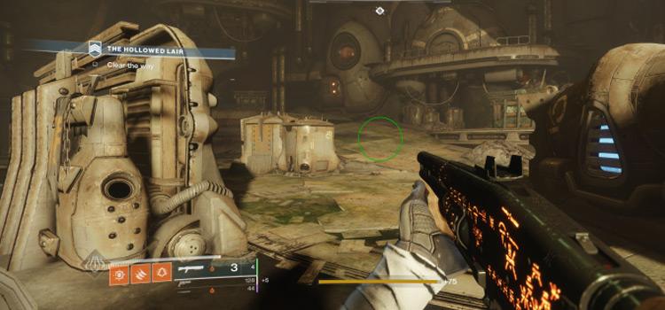 Hallowed Lair D2 battle screenshot