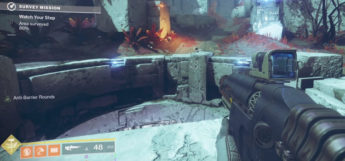 Auto-Rifle Destiny 2 gameplay screenshot