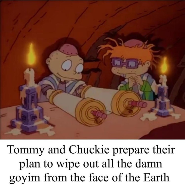Tommy and Chucky goyim meme