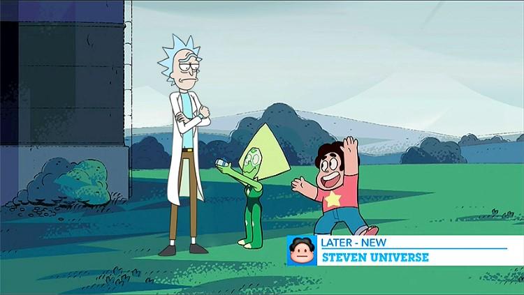Steven Universe Rick Morty crossover