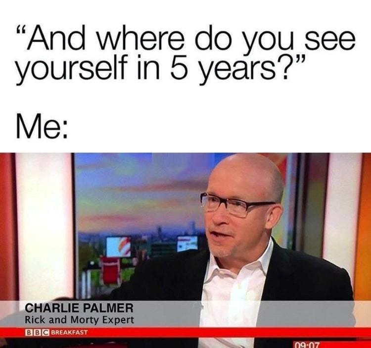Where do you see yourself meme