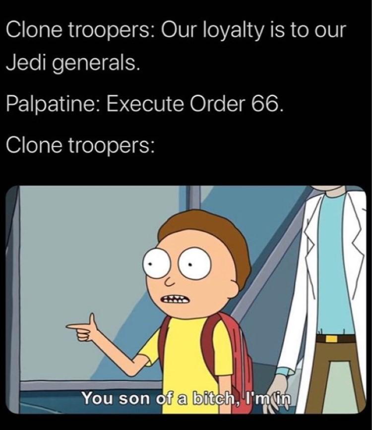 Son of a bitch Im in meme