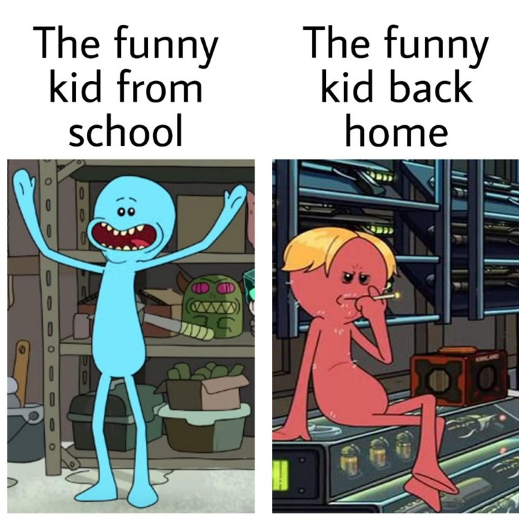 Funny kid from back home meme