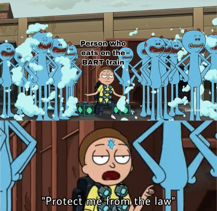Protect me from the law meme