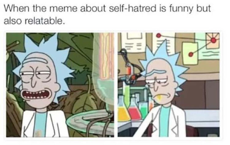 Meme is relatable but also sad