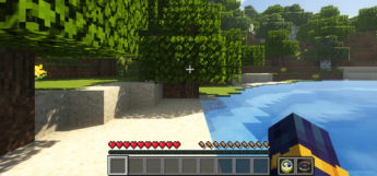 Smart HUD in-game screenshot Minecraft