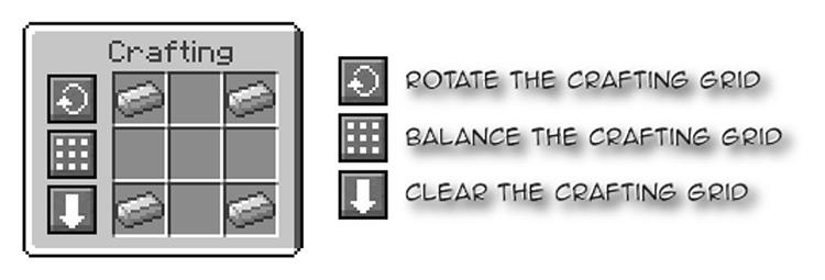 Crafting Tweaks Minecraft mod