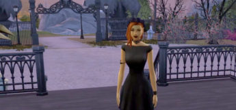 Vampire screenshot in Sims4 modded