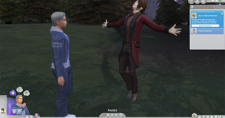 Bloodborne Aspiration Sims4 mod