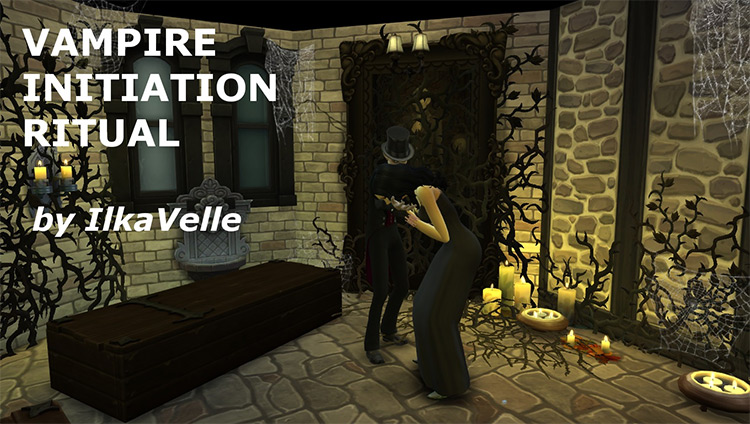 Vampire Initiation Ritual Sims4