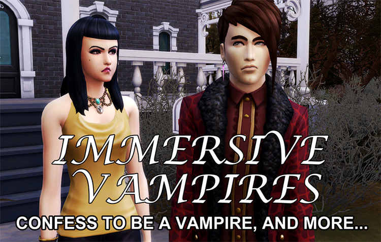 Immersive Vampires in Sims4