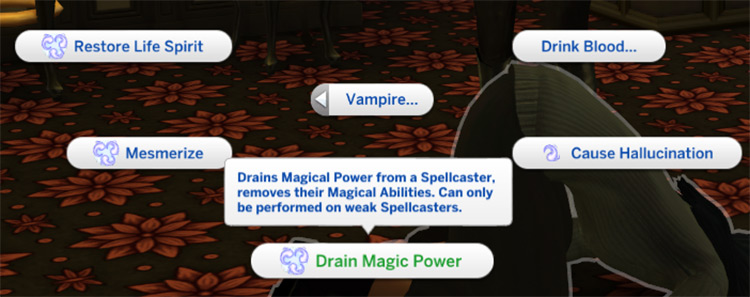 Vampires Can Kill in Sims4