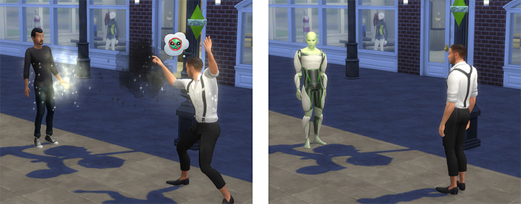 Vampire Creation Spell Sims4