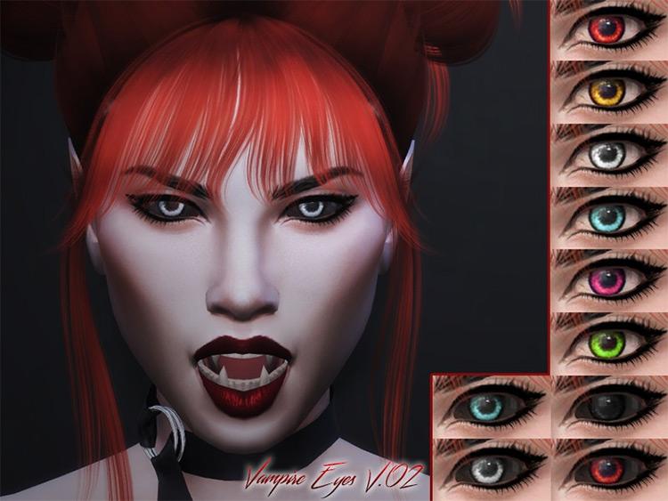KM Vampire Eyes mod