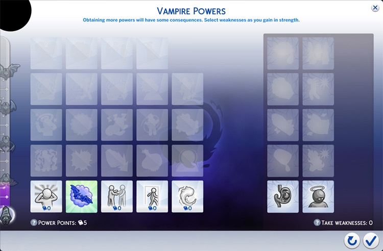 Free Perks vampire mod
