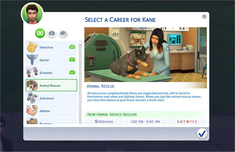 Animal Rescue Mod Sims4
