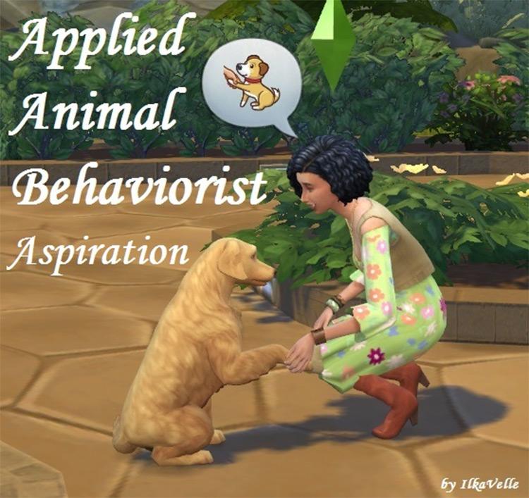 Applied Animal Behaviorist Sims4 aspiration mod