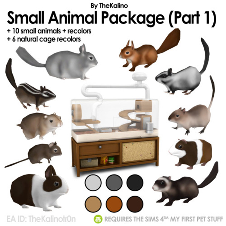 Small Animal Package mod