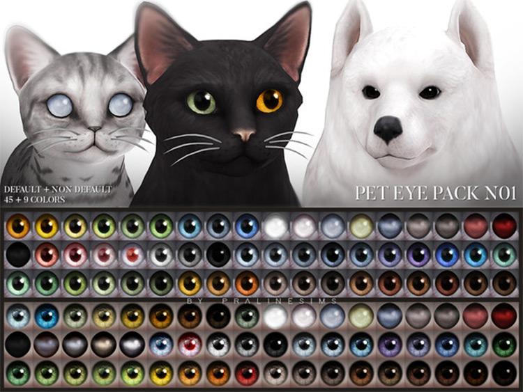 Sims4 Pet Eye Pack