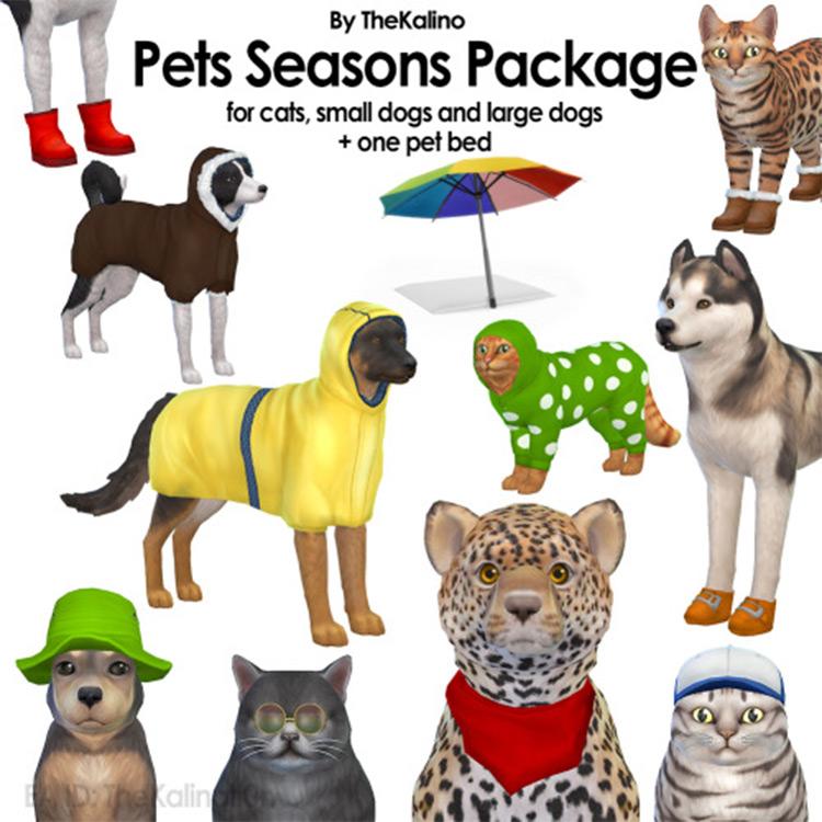 Pets Seasons Package Sims4
