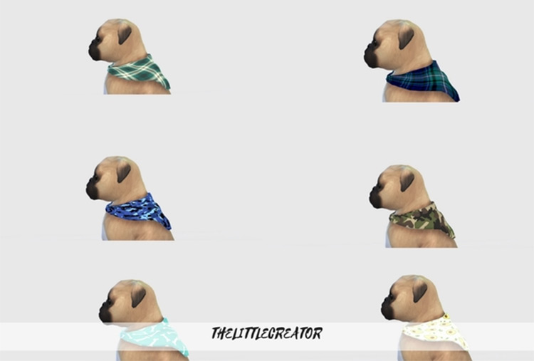 Small Dog Collars mod