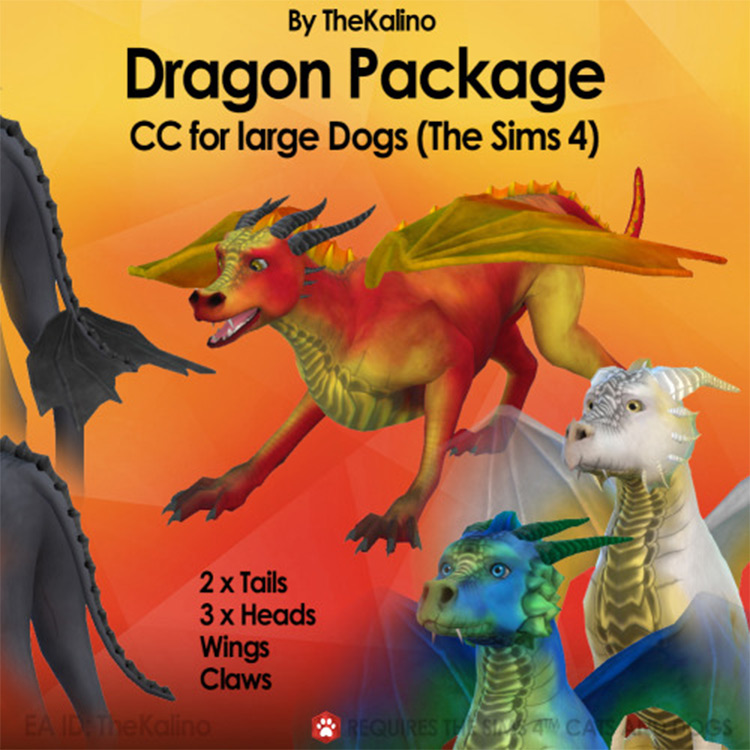 Dragon Package Sims4 mod