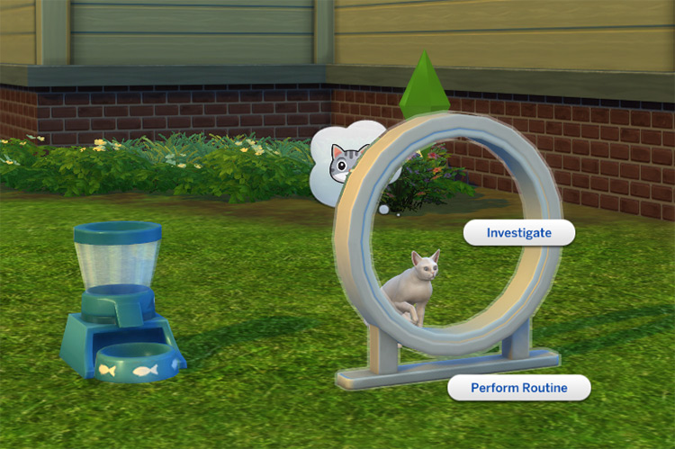 Playable Pets Mod for Sims4