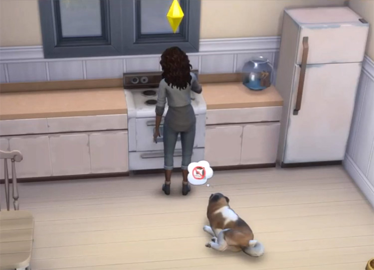Sims4 Less Pet Barfing