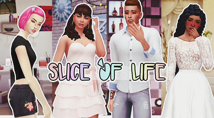 Slice of Life Sims4 mod