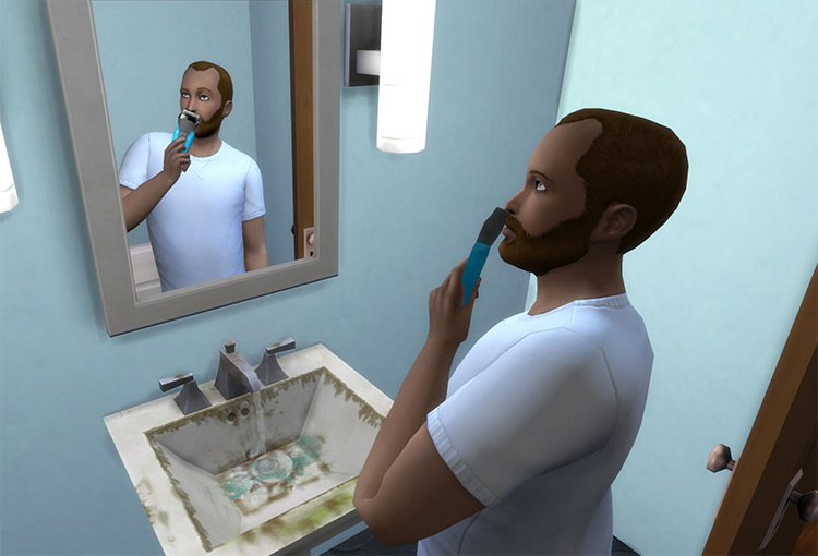 Automatic Beards Sims4