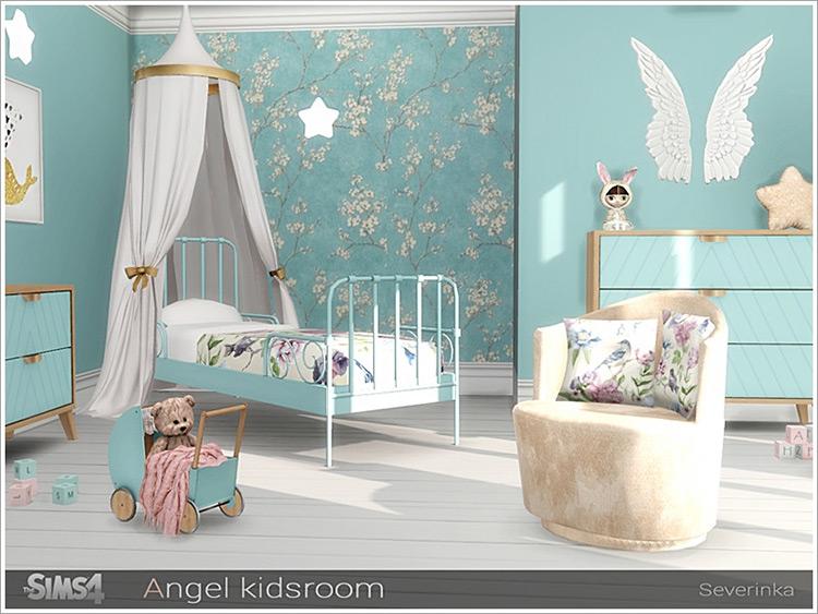 Angel Walls Set Sims4