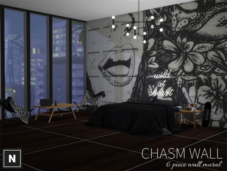 Chasm Wall Sims4