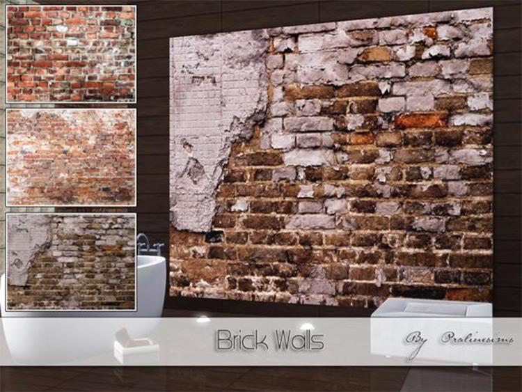Brick Wall in Sims4