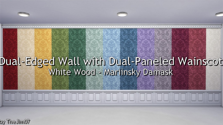Dual-Edged Wall Wainscot mod