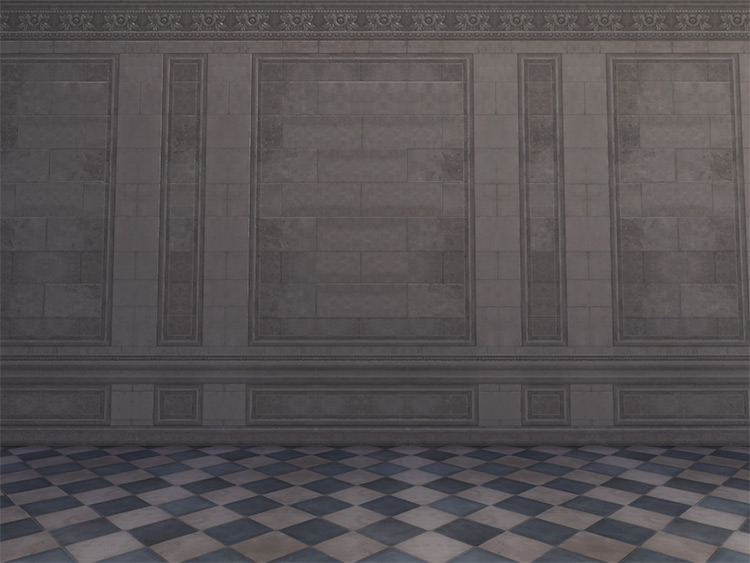 Interior Walls x3 for Sims4