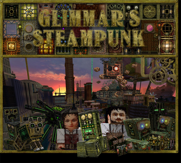 Glimmar's Steampunk textures