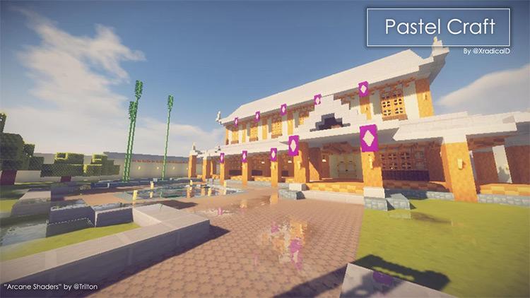 Pastel Craft textures for Minecraft
